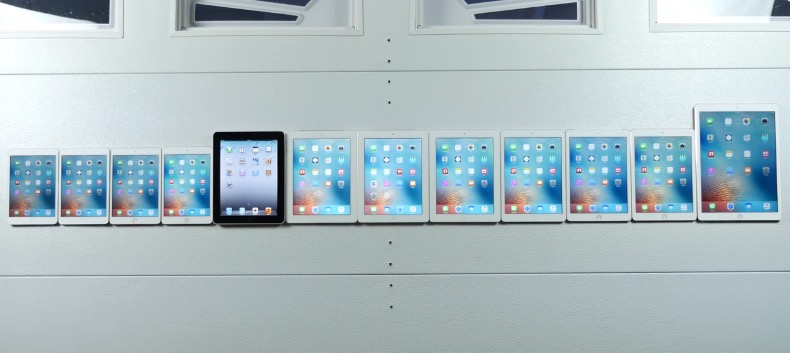Every iPad Ever Made Put to Speed Test Comparison VIDEO