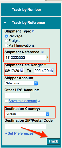 Find Package With Tracking Number : package, tracking, number, IPhone, Tracking, Number, Canada