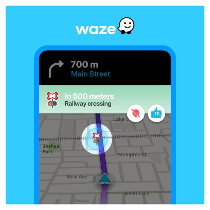 Waze railroad crossing iic
