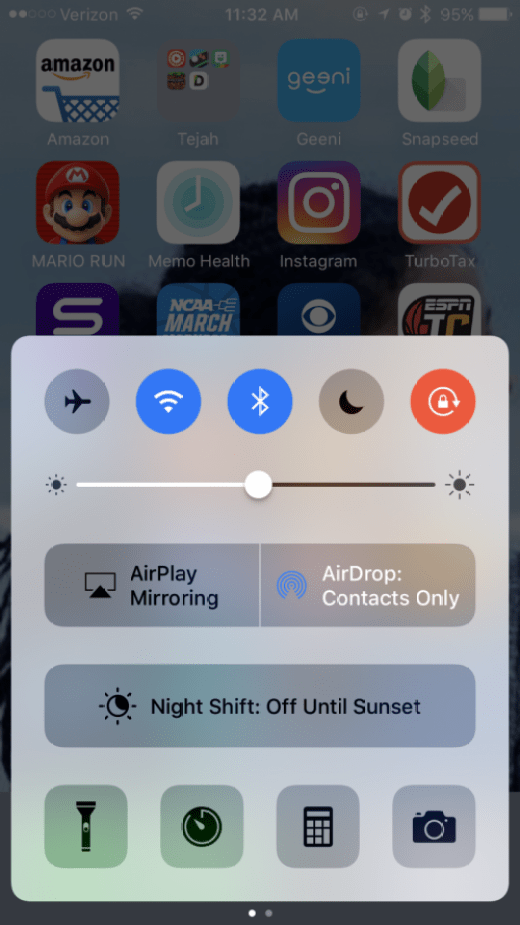How to remove auto rotate on iphone 6