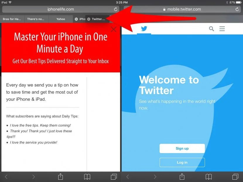 How to Get Rid of Split Screen on iPad  iPhone UPDATED