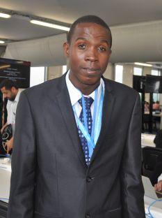 Youth climate activist Stefan Knights. Credit: Desmond Brown/IPS