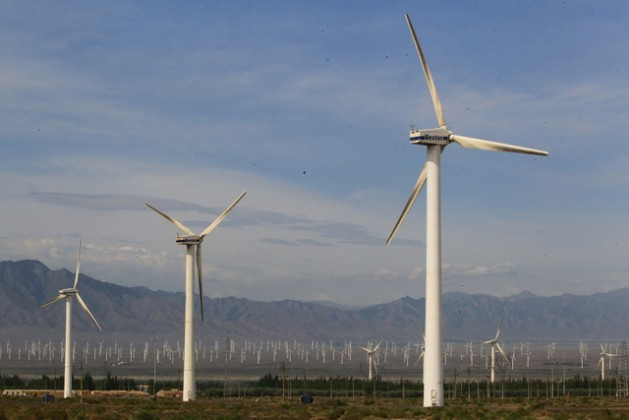 China has become the world leader in wind energy, although it is still surpassed by many European countries in terms of per capita wind power generation. Credit: Asian Development Bank