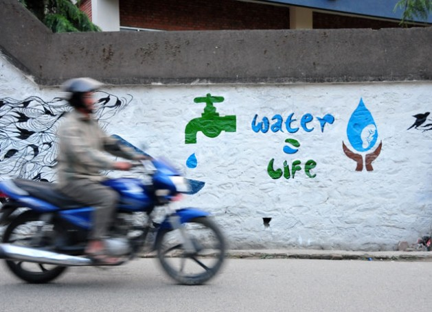 Water is at the core of Sustainable Development and it is crucial in Climate Change adaptation and mitigation strategies. Credit: Amantha Perera/IPS