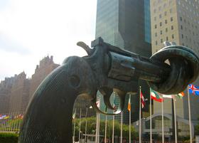 U.N. headquarters. Credit: Tressia Boukhors/IPS