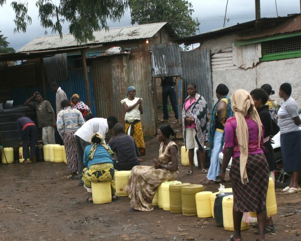 Water scarcity is fuelling violence in Kenya. Credit: Protus Onyango/IPS.