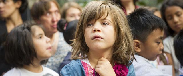 Refugee children at a reception centre in Rome, Italy. UN Photo/Rick Bajornas