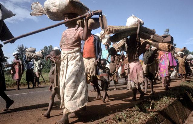Burundi - Refugees fleeing civil conflict. ©FAO/Linton