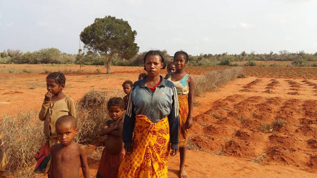 Southern Madagascar has been hit by consecutive droughts. Credit: FAO