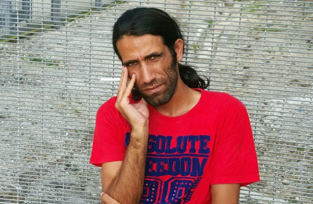 Journalist and asylum seeker Behrouz Boochani is detained indefinitely by the Australian government on Papua New Guinea's Manus Island. Credit: Supplied.