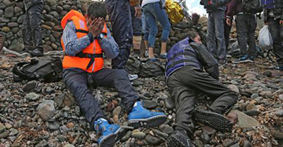 Migrants arrive in Europe after surviving a harrowing sea journey. File photo: IOM