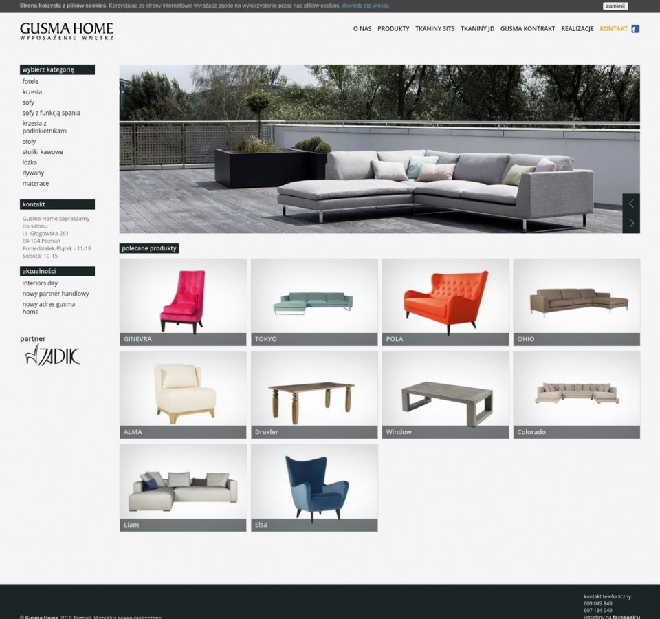 Website Gusma Home