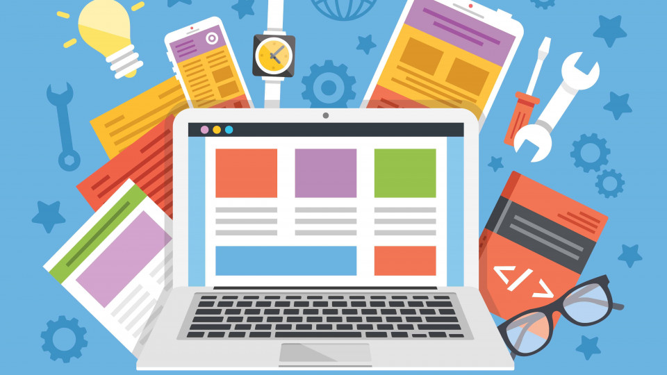 Pięć kroków projektowania / Tworzenie stron internetowych od podstaw