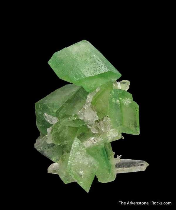 Augelite And Quartz - Jwl16-44 Mundo Nuevo Peru