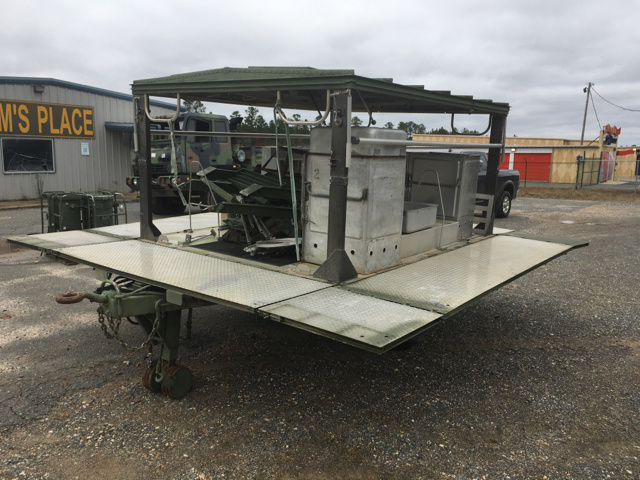 kitchen trailers cabinet com trailer for sale govplanet atlantic industries mkt90