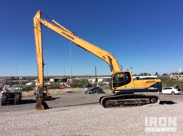 Hyundai 290LC-9 Long Reach Excavator In Vinton, Texas