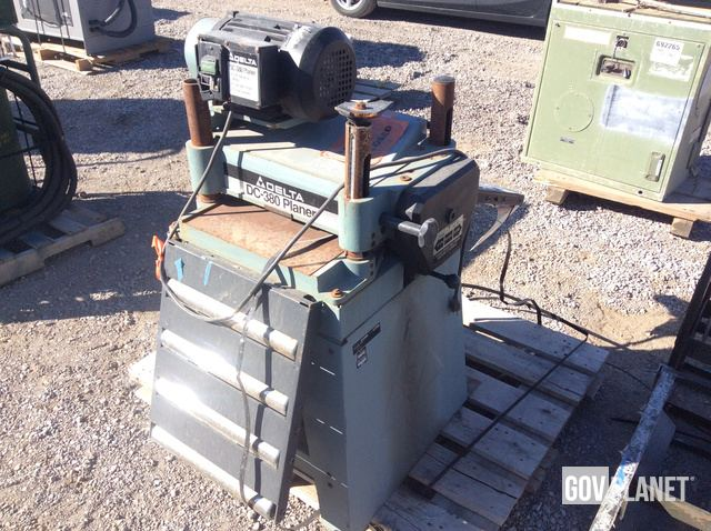 Delta Dc 380 Planer For Sale
