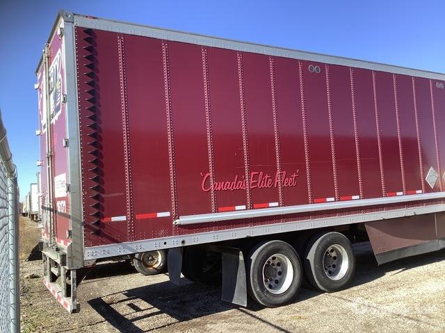 2016 Wabash DVCVHPC 68000 lb T/A Van Trailer in Odessa. Missouri. United States (SalvageSale Item #4345296)