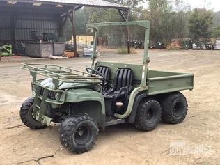 Surplus John Deere M-Gator 6x4 Utility Vehicle in Hooks. Texas. United States (GovPlanet Item #4856698)