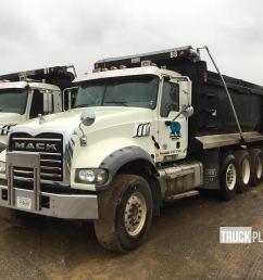 2012 mack gu713 tri a dump truck in ringgold georgia united states truckplanet item 1624810  [ 1920 x 1440 Pixel ]