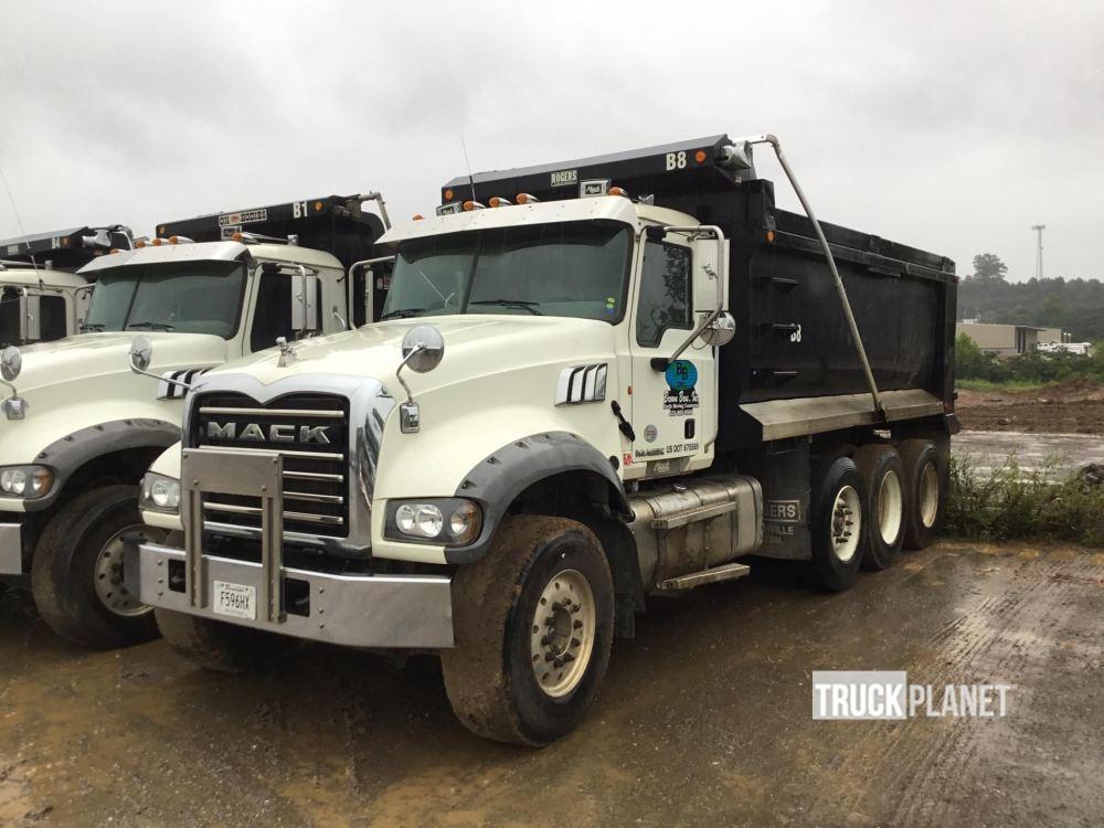 medium resolution of 2012 mack gu713 tri a dump truck in ringgold georgia united states truckplanet item 1624810