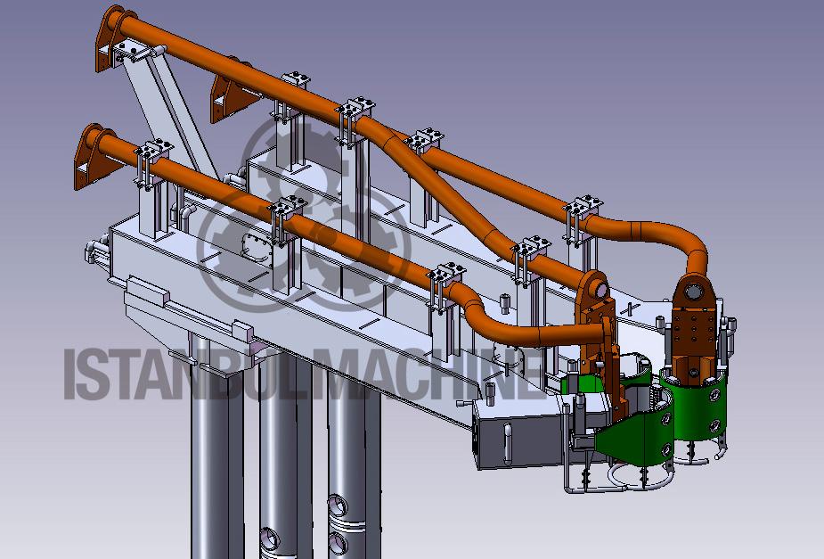 Electrode Arms EAF Melt Shop SteelMaking