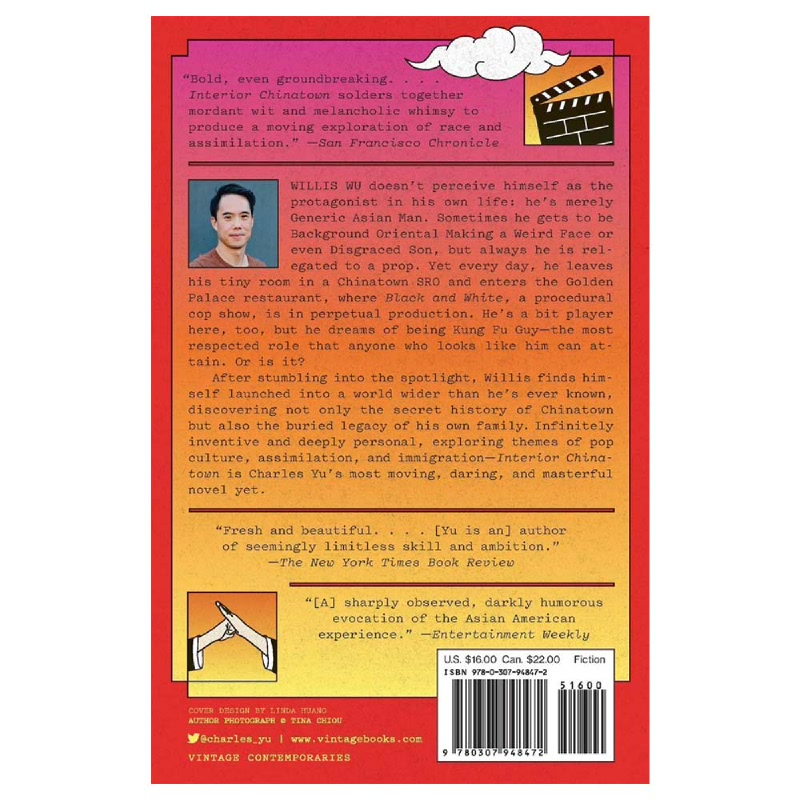Interior chinatown is an innovative and satirical work of literary fiction that explores the cliched portrayal of asians in the film and tv industry. Interior Chinatown Vintage Contemporaries Istyle