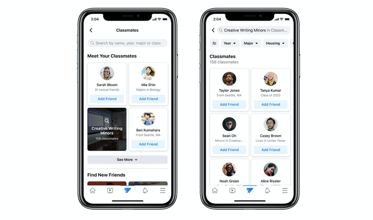 Facebook launches new Campus section in its app for