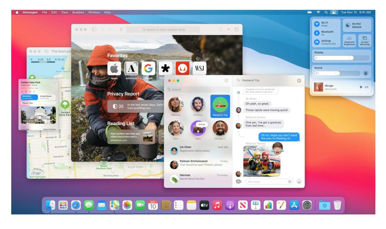 бета-версия macOS Big Sur 11.3