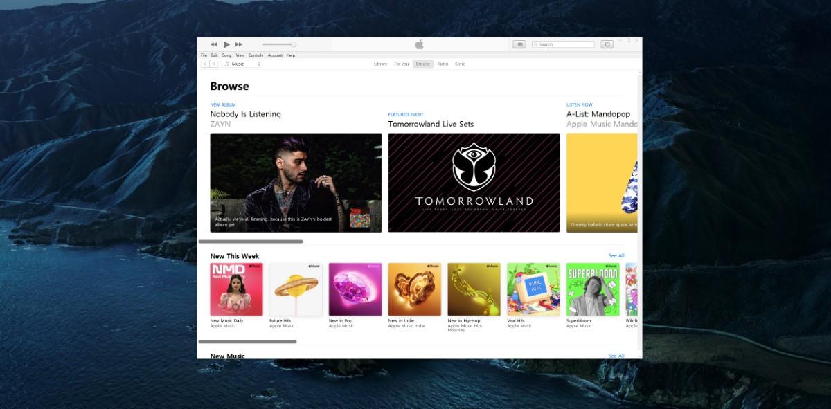 Приложения Apple Music Podcasts Windows