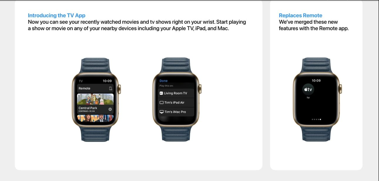концепция watchOS 8