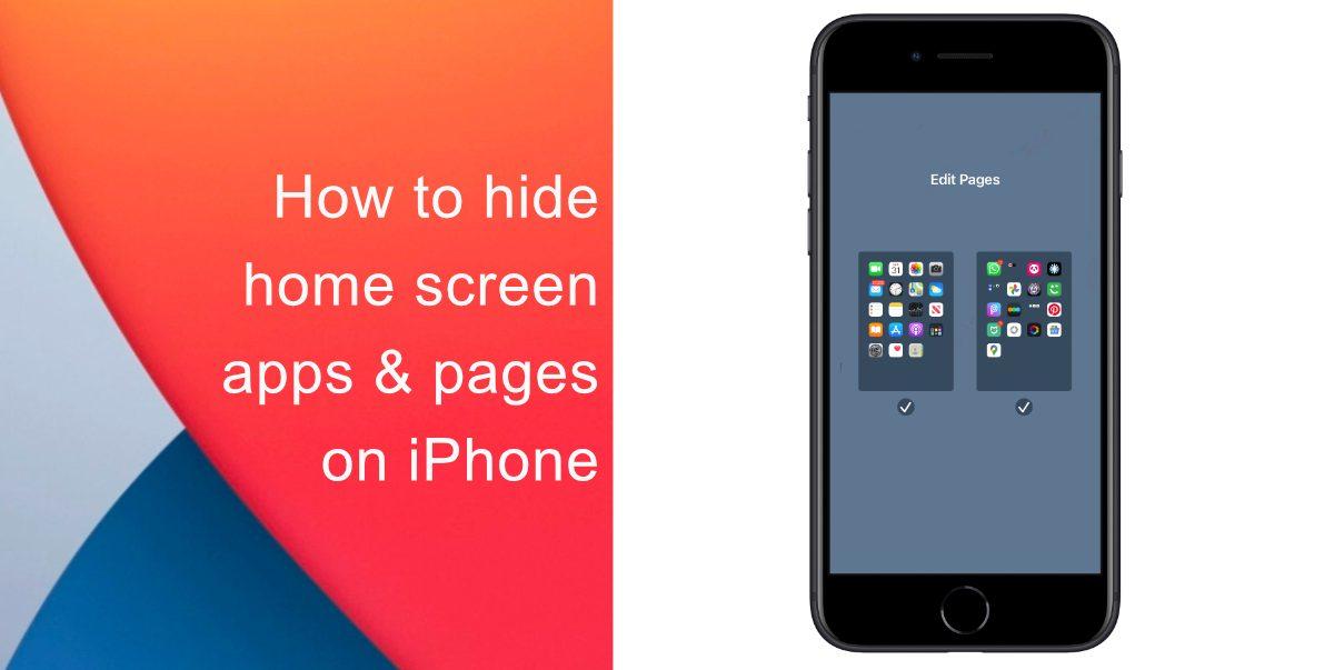 Как скрыть приложения и страницы на главном экране на iPhone