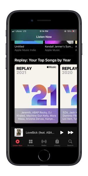 Плейлист Apple Music Replay 2021 уже доступен