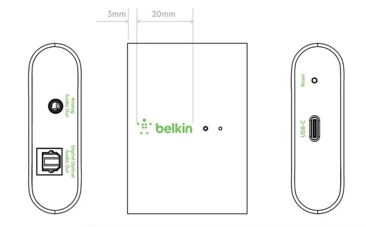 Адаптер Belkin Soundform connet AirPlay 2