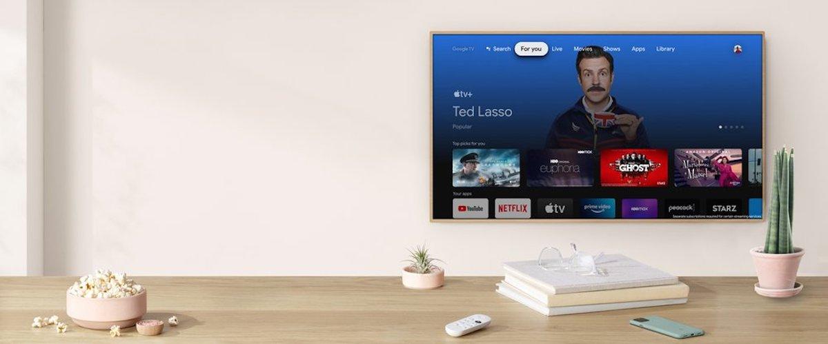 Apple TV на Google TV
