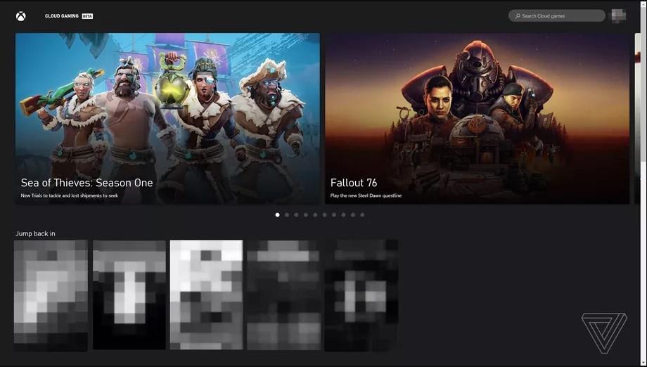 потоковая передача игр xCloud в браузере для iPhone и iPad
