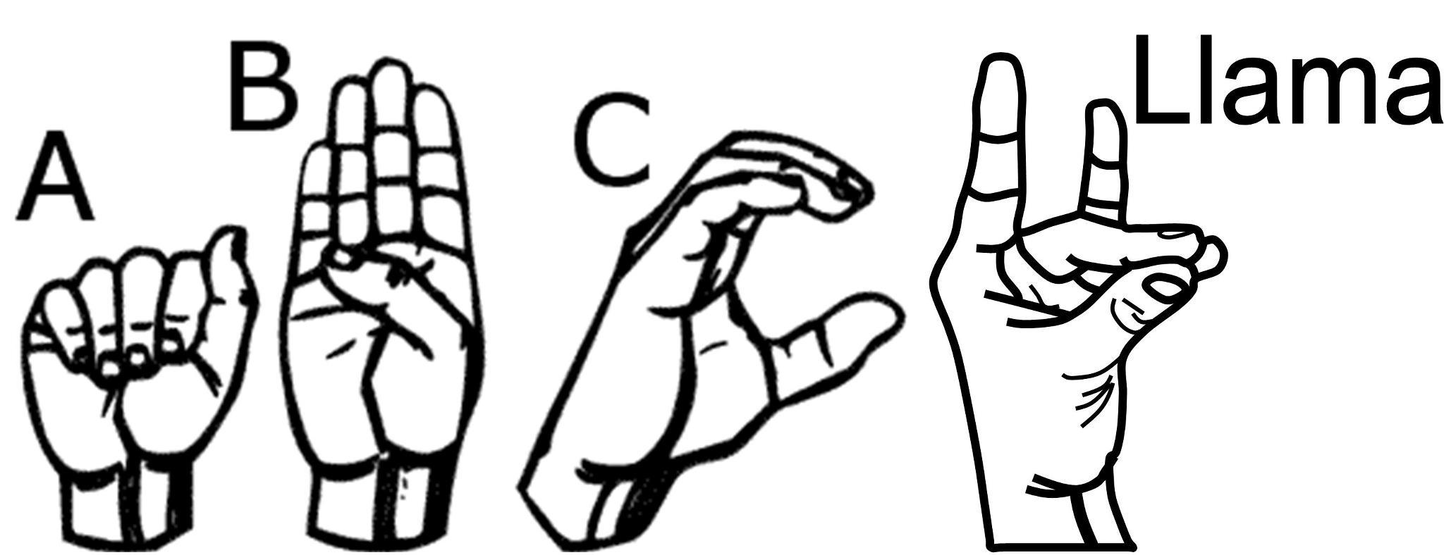 A.D.D. Sign Language