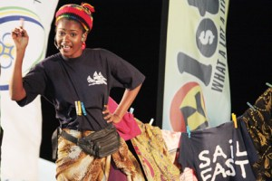Miss Easterval 2013, Justlyn Ollivierre'S Talent Was About Vending In Mayreau.