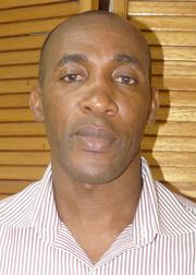 Superintendent Of Police Christopher Benjamin.