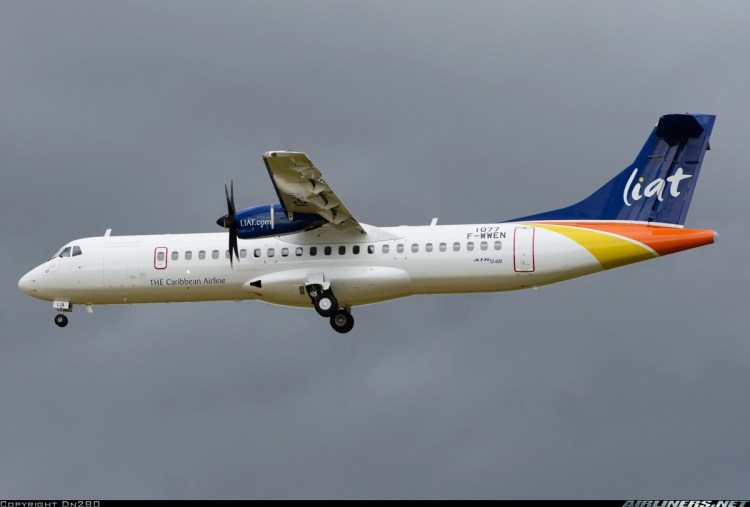 The First Of Liat'S Atr 72-600 Aircrafts Is Expected To Arrive In The Region Early In June. (Internet Photo)