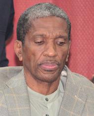 Former Minister Of Health, Sen. Douglas Slater (Iwn Photo)