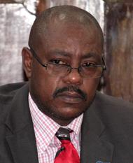 Minister Of National Mobilisation, Frederick Stephenson. (Iwn Photo)