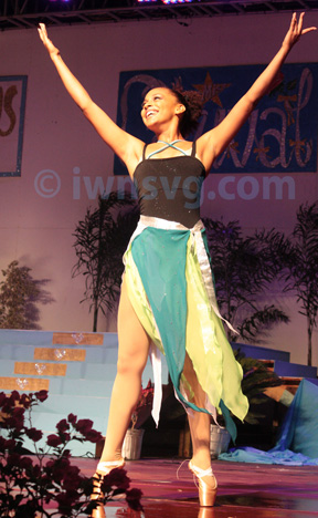 Best Talent: Miss Dominica, Leslassa Armour-Shillingford