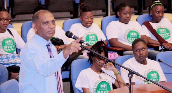 Guyana's Minister Of Agriculture, Dr. Leslie Ramsammy.