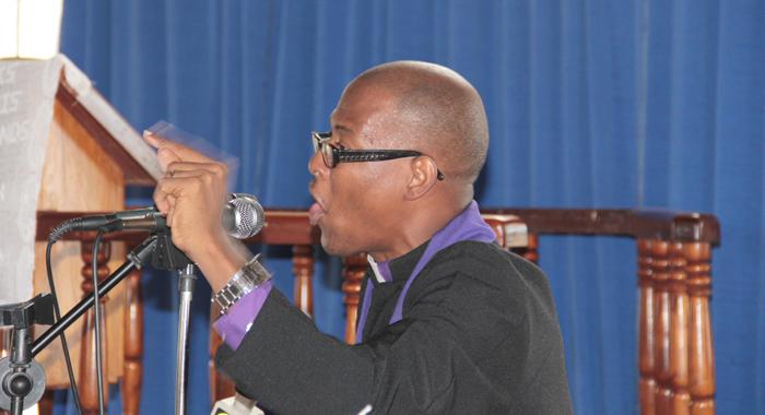 Reverend Pierre C. Zephyr. (Iwn Photo)