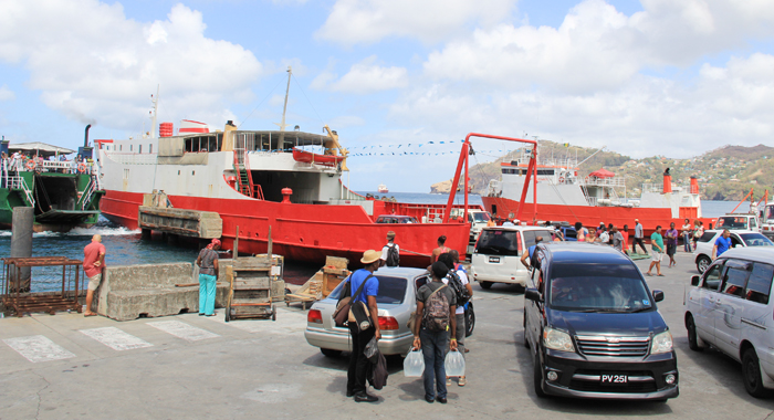 Persons Wishing To Travel To Bequia On Saturday (Pictured) And The Rest Of The Easter Weekend, Had Many Options. (Iwn Photo)