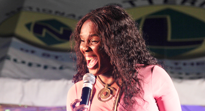Jamaican Judith Gayle. (Iwn Photo)