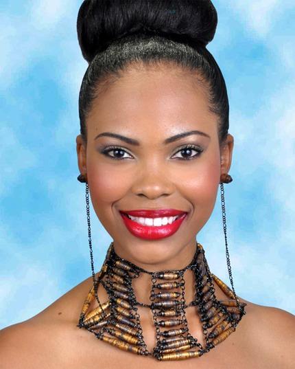 Miss Lime Shadeisha George. (Cdc Photo)