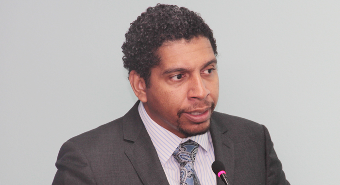 Minister Of Foreign Affairs, Camillo Gonsalves. (Iwn Photo)