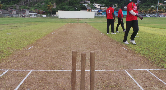 The Sub-Standard Pitch At Sion Hill. (Iwn Photo)